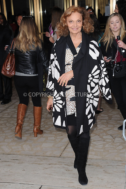 WWW.ACEPIXS.COM . . . . . .April 4, 2013...New York City....Diane Von Furstenberg attends the 4th Annual Women in the World Summit at Lincoln Center on April 4, 2013 in New York City ....Please byline: KRISTIN CALLAHAN - ACEPIXS.COM.. . . . . . ..Ace Pictures, Inc: ..tel: (212) 243 8787 or (646) 769 0430..e-mail: info@acepixs.com..web: http://www.acepixs.com .