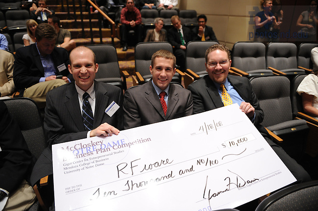 McCloskey Business Plan Competition announces winners