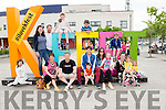 L-R Caoimhe, Julit and Billy Russell, Catriona Brosnan, Rhianna Russell, David Anderson, Rhys, Kieran, Hary, Mags and Freya Murphy, Karen Brosnan, Jaego Ferris, Kaia Ferris and Holly Anderson pictured at the K-Fest Music & The Arts Festival, Killorglin last Bank Holiday weekend.