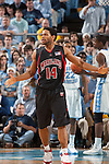 03 February 2009: Maryland Terrapins guard Sean Mosley (14) during a 108-91 loss to the North Carolina Tar Heels at the Dean Smith Center in Chapel Hill, NC.
