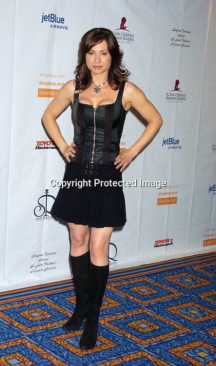 Sarah Brown ..at the 10th Annual Daytime Television Salutes St. Jude Children's Research Hospital Benefit on October 8, 2004 at the Marriott Marquis Hotel in New York City...Photo by Robin Platzer, Twin Images