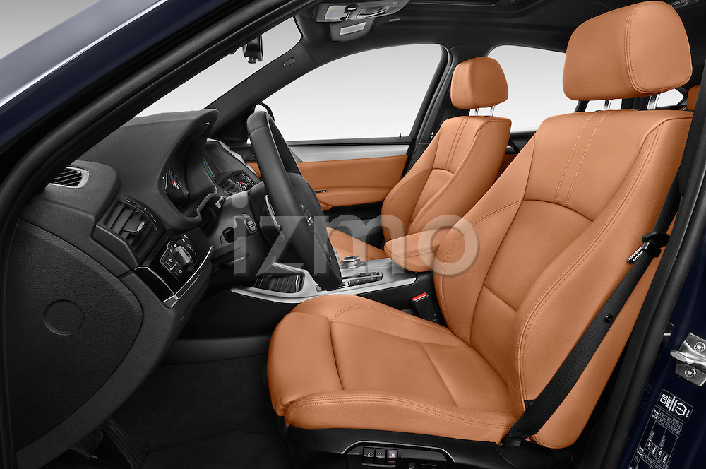 Front seat view of a 2015 BMW X4 M sportpakket 5 Door SUV 2WD Front Seat car photos