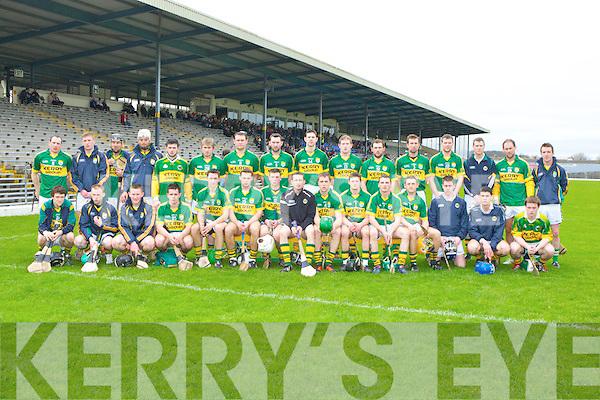 Kerry v Carlow at Fitzgerald Stadium on Sunday.
