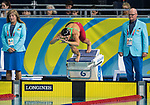 Wales Chloe Tutton in action during the 50m Breaststroke <br /> <br /> *This image must be credited to Ian Cook Sportingwales and can only be used in conjunction with this event only*<br /> <br /> 21st Commonwealth Games - Swimming -  Day 1 - 05\04\2018 - Gold Coast Optus Aquatic centre - Gold Coast City - Australia<br /> <br /> x1x