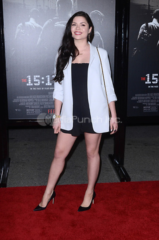 BURBANK, CA - FEBRUARY 05: Morgan Eastwood at the Premiere Of Warner Bros. Pictures' 'The 15:17 To Paris' at Steven J. Ross Theater/Warner Bros Studios Lot on February 5, 2018 in Burbank, California. Credit: David Edwards/MediaPunch