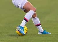 , FL - : Christen Press #23 of the United States dribbles during a game between  at  on ,  in , Florida.