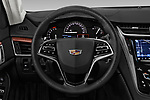 Car pictures of steering wheel view of a 2019 Cadillac CTS Luxury 4 Door Sedan
