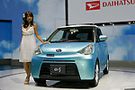 Daihatsu E:S on display during the first press day for the 41th Tokyo Motor Show, 21 October 2009 in Tokyo (Japan). The TMS will be open for the public from 23 October 2007 to 4 November 2009.