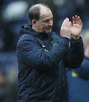 Preston North End's Manager Simon Grayson applauds the crowd as the game ends<br /> <br /> Photographer Mick Walker/CameraSport<br /> <br /> The EFL Sky Bet Championship - Preston North End v Reading - Saturday 11th March 2017 - Deepdale - Preston<br /> <br /> World Copyright &copy; 2017 CameraSport. All rights reserved. 43 Linden Ave. Countesthorpe. Leicester. England. LE8 5PG - Tel: +44 (0) 116 277 4147 - admin@camerasport.com - www.camerasport.com