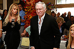 Dyan Cannon and Hugh Hefner at a ceremony where Hugh Hefner receives first founder's 'Hero of the Hearts' award from Children of the Night on November 18, 2010 in Van Nuys, Los Angeles, California.
