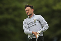 Thomas Finnegan (Co.Sligo) on the 1st tee during the Final of the Barton Shield in the AIG Cups & Shields Connacht Finals 2019 in Westport Golf Club, Westport, Co. Mayo on Saturday 10th August 2019.<br /> <br /> Picture:  Thos Caffrey / www.golffile.ie<br /> <br /> All photos usage must carry mandatory copyright credit (© Golffile | Thos Caffrey)