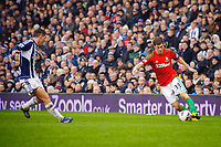 Saturday, 9 March 2013<br /> <br /> Pictured: Ben Davies of Swansea City<br /> <br /> Re: Barclays Premier League West Bromich Albion v Swansea City FC  at the Hawthorns, Birmingham, West Midlands