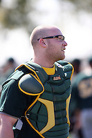Chris Affinito, Oakland Athletics 2010 minor league spring training..Photo by:  Bill Mitchell/Four Seam Images.