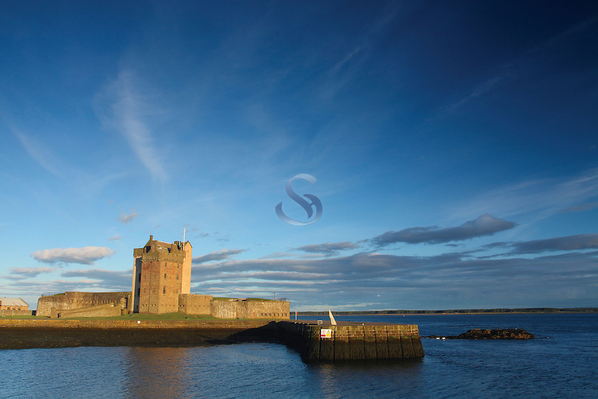 Broughty Ferry Castle and the River Tay, Broughty Ferry, Tayside<br /> <br /> Copyright www.scottishhorizons.co.uk/Keith Fergus 2011 All Rights Reserved