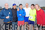 Pictured at the Kerryhead Half Marathon in Ballyheigue on Sunday, from left: John Leen, Kevin O'Sullivan, Ed Flahive, Tom Brendan O'Connor, Terence Dineen and Tom Duggan, all from Ballyheigue..