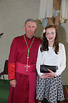 Emily Flynn.after being confirmed by Bishop Michael Smith in Julianstown Church..Picture:  www.newsfile.ie ..