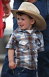 Ben Marvel, 2, of Winnemucca, at the Reno Rodeo on Friday, June 17, 2011 in Reno, Nev. .Photo by Cathleen Allison