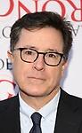 Stephen Colbert attends 'The Play That Goes Wrong' Broadway Opening Night at the Lyceum Theatre on April 2, 2017 in New York City.