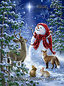 Dona Gelsinger, CHRISTMAS SANTA, SNOWMAN, WEIHNACHTSMÄNNER, SCHNEEMÄNNER, PAPÁ NOEL, MUÑECOS DE NIEVE, paintings+++++,USGE1801,#x#