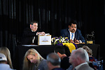 October 28, 2019 : Scenes from the Rood & Riddle Post Position Draw for the Breeders' Cup Championship Races at Santa Anita Park in Arcadia, California on October 28, 2019. Scott Serio/Eclipse Sportswire/Breeders' Cup/CSM