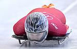 Marina Gilardoni (SUI). Skeleton training. Alpensia sliding centrePyeongchang2018 winter Olympics. Alpensia. Republic of Korea. 13/02/2018. ~ MANDATORY CREDIT Garry Bowden/SIPPA - NO UNAUTHORISED USE - +44 7837 394578