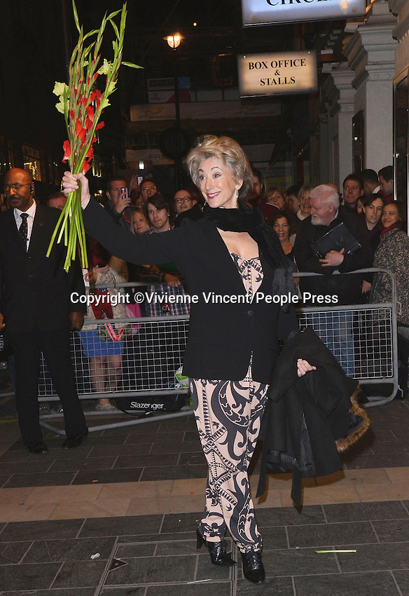 'Eat, Pray, Laugh!' - Barry Humphries Farewell Tour - Press Night at the London Palladium, London - November 15th 2013<br /> <br /> Photo by Vivienne Vincent