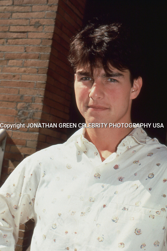 Tom Cruise 1986 by Jonathan Green
