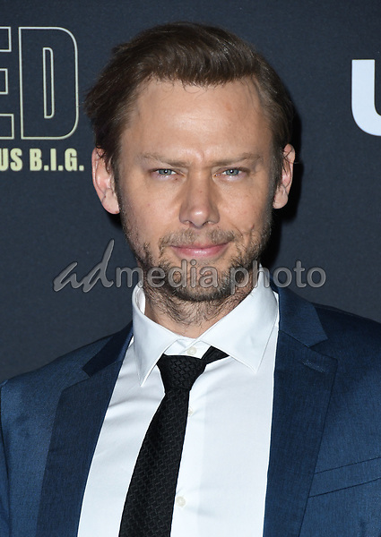"22 February 2018 - Hollywood, California - Jimmi Simpson. USA Network's ""Unsolved: The Murders of Tupac & The Notorious B.I.G."" held at Avalon Hollywood. Photo Credit: Birdie Thompson/AdMedia"