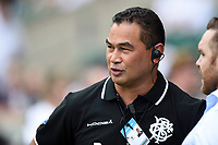 Barbarians Head Coach Pat Lam looks on during the pre-match warm-up. Quilter Cup International match between England and the Barbarians on May 27, 2018 at Twickenham Stadium in London, England. Photo by: Patrick Khachfe / Onside Images