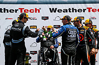 TCR Podium, #54 JDC-Miller MotorSports, Audi RS3 LMS TCR, TCR: Michael Johnson, Stephen Simpson, #12 eEuroparts.com Racing, Audi RS3 LMS TCR, TCR: Kenton Koch, Tom O'Gorman, #74 Compass Racing, Audi RS3 LMS TCR, TCR: Rodrigo Sales, Kuno Wittmer