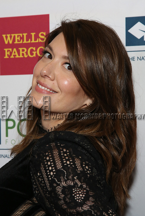 Michelle Collins attends the Point Foundation hosts Annual Point Honors New York Gala Celebrating The Accomplishments Of LGBTQ Students at The Plaza Hotel on April 9, 2018 in New York City.