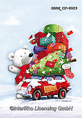 Roger, CHRISTMAS ANIMALS, WEIHNACHTEN TIERE, NAVIDAD ANIMALES, paintings+++++,GBRMCX-0029,#xa#