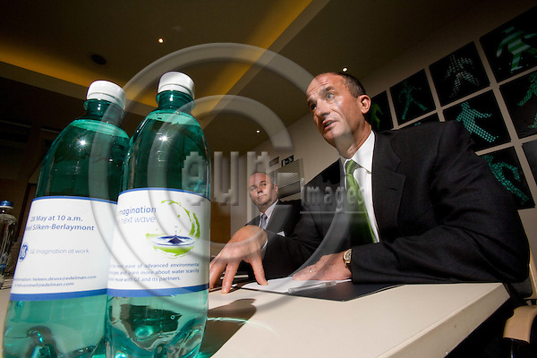 BRUSSELS - BELGIUM - 28 MAY 2008 -- John G. RICE, Vice Chairman GE and President and CEO for GE Infrrastructure after the Press Conference where GE Unveiled their agressive water reduction target to free up fresh water supplies. The company pledges to reduce fresh water use by 20% by 2012.  Photo: Erik Luntang/EUP-IMAGES