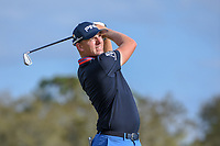 Matthew Wallace (ENG) watches his tee shot on 14 during round 3 of the Arnold Palmer Invitational at Bay Hill Golf Club, Bay Hill, Florida. 3/9/2019.<br /> Picture: Golffile | Ken Murray<br /> <br /> <br /> All photo usage must carry mandatory copyright credit (&copy; Golffile | Ken Murray)