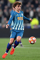 Antoine Griezmann of Atletico Madrid  in action during the Uefa Champions League 2018/2019 round of 16 second leg football match between Juventus and Atletico Madrid at Juventus stadium, Turin, March, 12, 2019 <br />  Foto Andrea Staccioli / Insidefoto