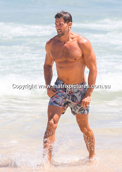 6 FEBRUARY 2018 SYDNEY AUSTRALIA<br /> WWW.MATRIXPICTURES.COM.AU<br /> <br /> EXCLUSIVE PICTURES<br /> <br /> Tim Robards pictured at Bondi Beach for a quick swim. <br /> <br /> Note: All editorial images subject to the following: For editorial use only. Additional clearance required for commercial, wireless, internet or promotional use. Images may not be altered or modified. Matrix Media Group makes no representations or warranties regarding names, trademarks or logos appearing in the images.