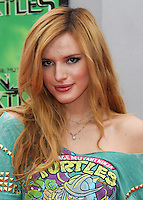 WESTWOOD, LOS ANGELES, CA, USA - AUGUST 03: Bella Thorne at the Los Angeles Premiere Of Paramount Pictures' 'Teenage Mutant Ninja Turtles' held at Regency Village Theatre on August 3, 2014 in Westwood, Los Angeles, California, United States. (Photo by Celebrity Monitor)
