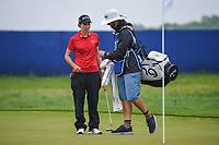 Carlota Ciganda (ESP) looks over her putt on 1 during round 4 of the KPMG Women's PGA Championship, Hazeltine National, Chaska, Minnesota, USA. 6/23/2019.<br /> Picture: Golffile | Ken Murray<br /> <br /> <br /> All photo usage must carry mandatory copyright credit (© Golffile | Ken Murray)