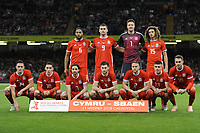 Wales v Spain International football<br /> <br /> Thursday 11th Oct 2018<br /> Principality Stadium, Cardiff<br /> <br /> Jeff Thomas Photography -  www.jaypics.photoshelter.com - <br /> e-mail swansea1001@hotmail.co.uk -<br /> Mob: 07837 386244 -
