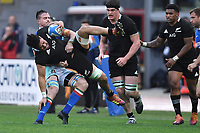 Ardie Savea All Blacks, Abraham Steyn Italy<br /> <br /> Roma 24-11-2018  Stadio Olimpico,<br /> Rugby Cattolica Test Match 2018<br /> Italia vs Nuova Zealanda / Italy vs New Zealand <br /> Photo Antonietta Baldassarre / Insidefoto