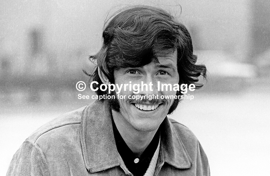 Billy Millen, footballer, Linfield FC, Belfast, N Ireland, September, 1969, 196909000254<br />