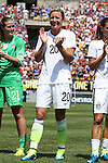16 August 2015: Abby Wambach (USA). The United States Women's National Team played the Costa Rica Women's National Team at Heinz Field in Pittsburgh, Pennsylvania in an women's international friendly soccer game. The U.S. won the game 8-0.