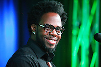 Dwele visits WDAS's iHeart Radio Performance Theater in Bala Cynwyd, Pa on August 30, 2012  &copy; Star Shooter / MediaPunchInc /NortePhoto.com<br />
