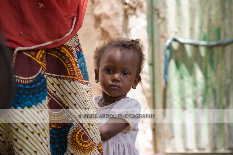 Fulani child in Ouagadougou, Burkina Faso.