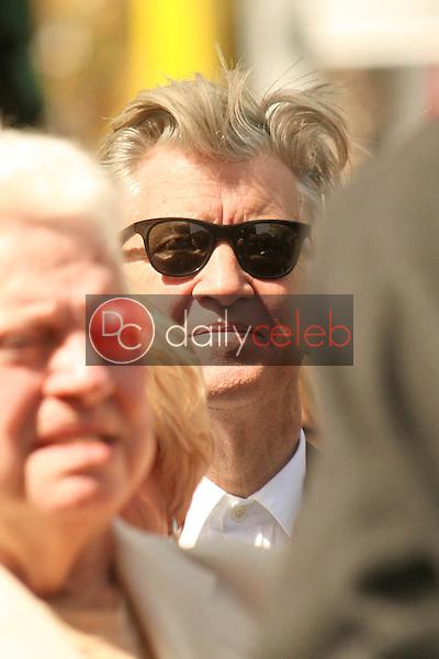 David Lynch<br /> at the Hollywood Walk of Fame induction ceremony for Dennis Hopper, Hollywood Blvd., Hollywood, CA. 03-26-10<br /> David Edwards/Dailyceleb.com 818-249-4998