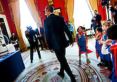 United States President Barack Obama tours the 2015 White House Science Fair, a celebration of students winners of STEM (Science, technology, engineering and math) competitions from across the country on March 23, 2015, at the White House, in Washington, DC.<br /> Credit: Aude Guerrucci / Pool via CNP