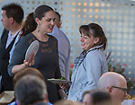 """A photograph taken during the """"Reno Taste"""" launch party  Tuesday, June 13, 2017 on the terrace of Campo Reno."""