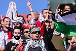Palestine soccer fans show their supports for their team prior to the AFC Asian Cup UAE 2019 Group B match between Palestine (PLE) and Australia (AUS) at Rashid Stadium on 11 January 2019 in Dubai, United Arab Emirates. Photo by Marcio Rodrigo Machado / Power Sport Images