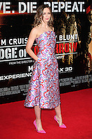 Emily Blunt arriving at the premiere of 'Edge Of Tomorrow', at the IMAX, London. 28/05/2014 Picture by: Alexandra Glen / Featureflash