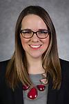 Kat Fraser, Assistant Director, Recruiting, Kellstadt Graduate School of Business, Driehaus College of Business, DePaul University, is pictured Feb. 19, 2019. (DePaul University/Jeff Carrion)